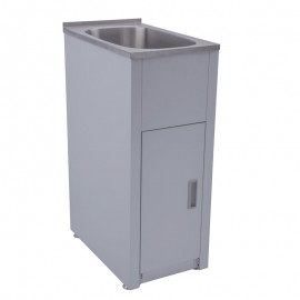 30 Liter Compact Laundry Tub & Cabinet SBCK30L