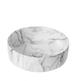 Matte White Carrara SBC3636CRA
