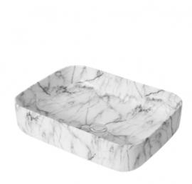 Matte White Carrara SBC5039CRA